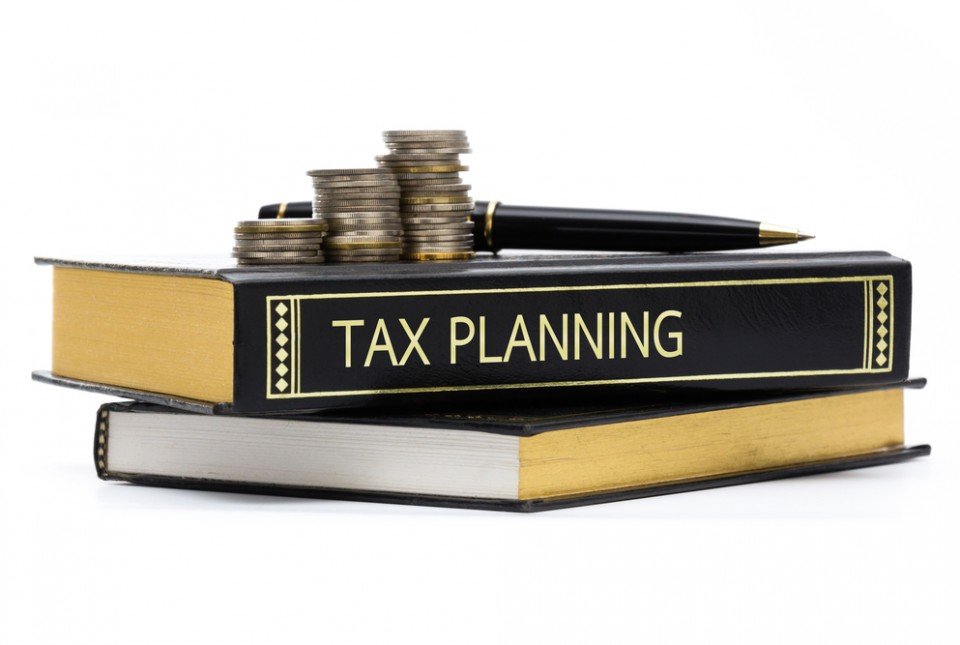 Tax Book And Coins Image 960×645