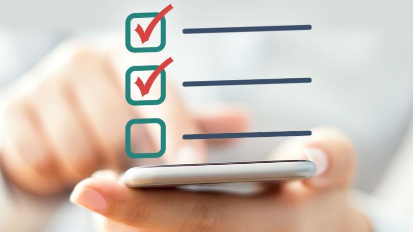 چک لیست اقدامات مراجعه به اداره مالیاتی