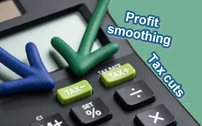 تاثیر هموارسازی سود بر کاهش مالیات